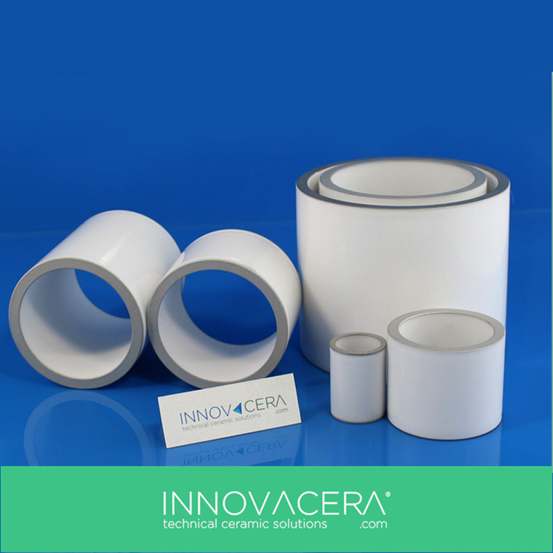 Nickel Plating Metallized Aluminum Oxide Ceramic For Vacuum Interrupter/INNOVACERA