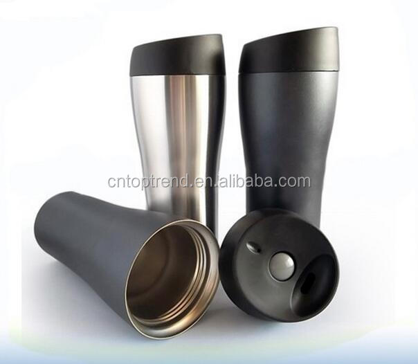 custom logo 500ml Double wall stainless steel travel mug
