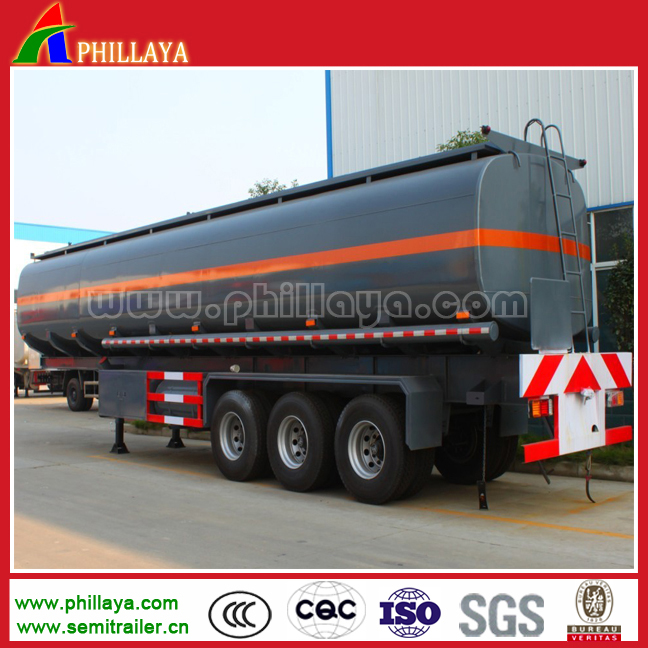 Bitumen tank container with heating system