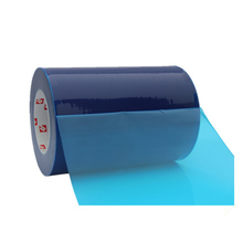 Transparent Blue Protective Polyolefin Shrink PE Plastic Film Roll