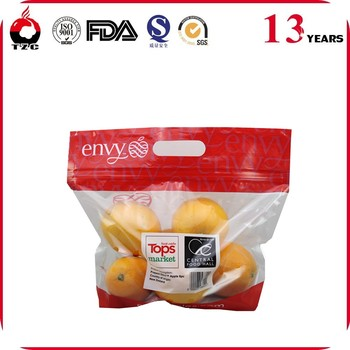Fruit Use and Stand Up Pouch Bag Type fruit plastic bag