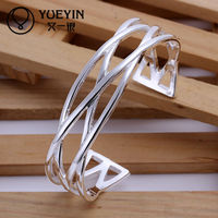 New product designer fashion fancy bangles,925 silver bangle jewelry