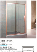 Full stainless steel Modern simple shower screens Large Size Steam Shower Room With Countrol Panel