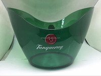 no handle ice bucket / tanqueray ice bucket, plastic ice bucket
