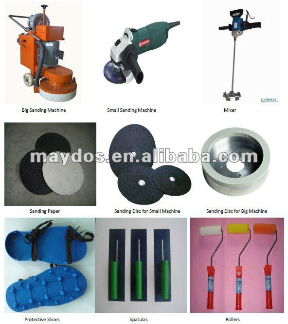 HOT SELL!!! Maydos Scratching Resistance Epoxy Industrial Concrete Floor Coatings(China floor coatings)