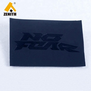 Custom Brand Logo Leather Patch Label for Jeans LL50005