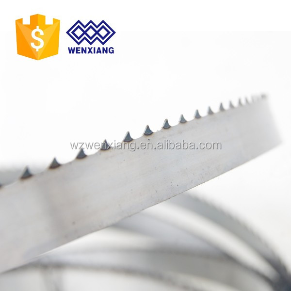 Excellent performance meat fish cutting band saw blade