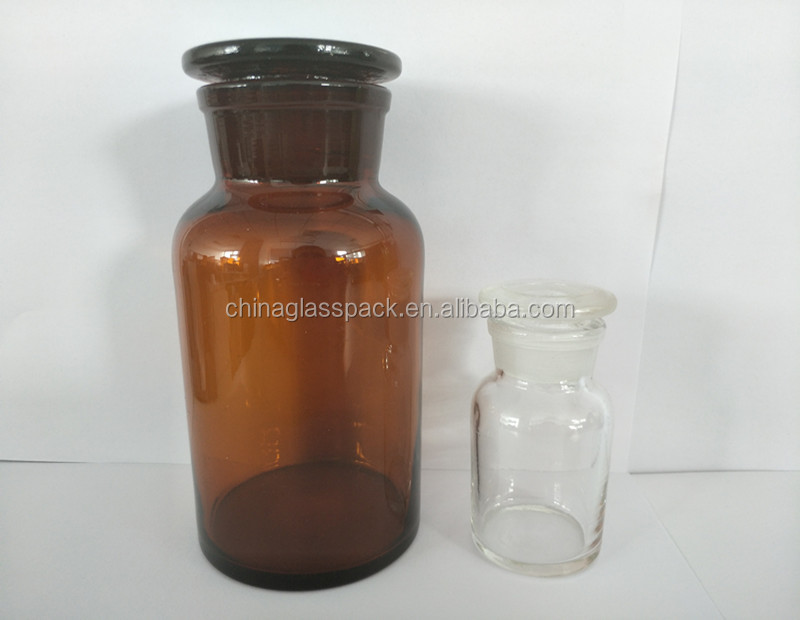 250ml 500ml 1000ml Reagent Bottle Wide Mouth