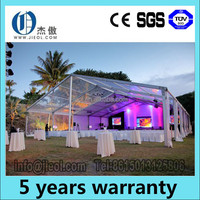 clear span cheap wedding party tents with pipe and drape for sale