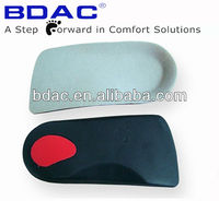 EVA insole 3/4 length arch support for flat feet insole orthopaedic insole