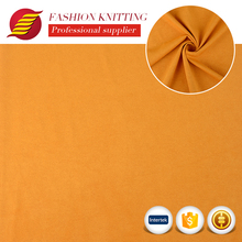 China factory supplier colorful cloth made poly spandex faux single face synthetic suede fabric