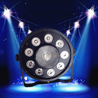 Guangzhou Slim 9+1 Each RGB LED Par Light DMX512 Party Stage Lighting
