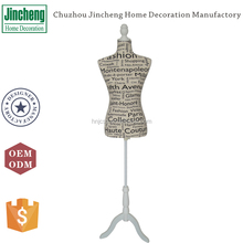 Letter printing linen moving sewing mannequin