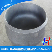 A234 wpb bw Carbon steel pipe cap fitting dish end cap