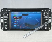 WITSON car radio dvd gps for DODGE CALIBER