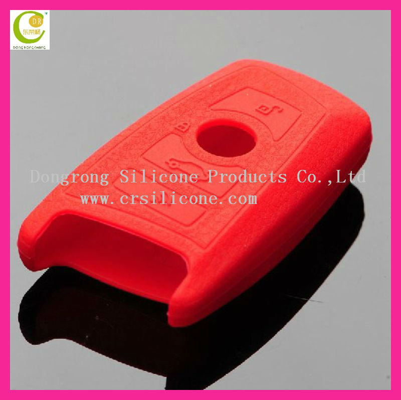 Unit color pattern smart hot selling silicone key case for bmw remote key shell