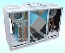 condensing type fin tube heat recuperator system