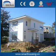 Light weight prefabricated glass house