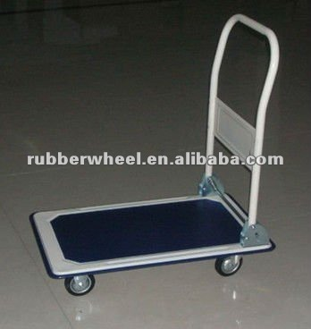 popular goods carrying hand pull trolley PH150