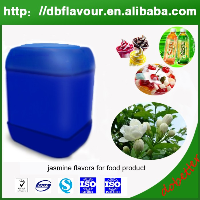 High quality and wholesale fresh jasmine flavors for candy and chewing gun