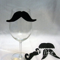 Wedding Photo Props Novelty Mustache For Wholesale wedding table wine glass decoration