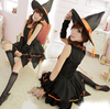 Witch Cosplay Halloween Carnival Costume Women Dress Party TC008