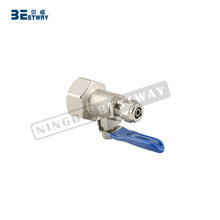 BWVA CE tested manual power isolating ball valves 1/4 inch