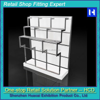 Display shelf, display gondola, store display fixture, clothes shoes display wall shelf