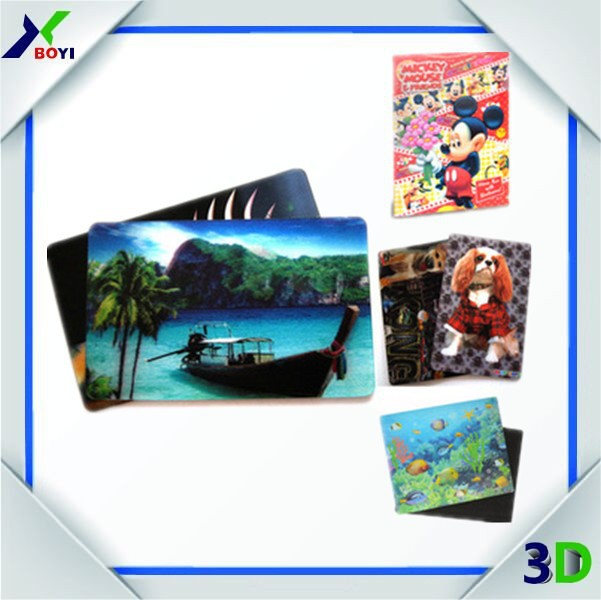 animated 3d lenticular fridge magnet/3D lenticular sticker for promotion