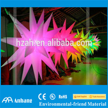Color Changing Ceiling Inflatable Stars with LED light