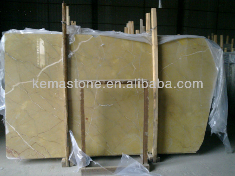 Poly Yellow & Beige Color Marble Stone
