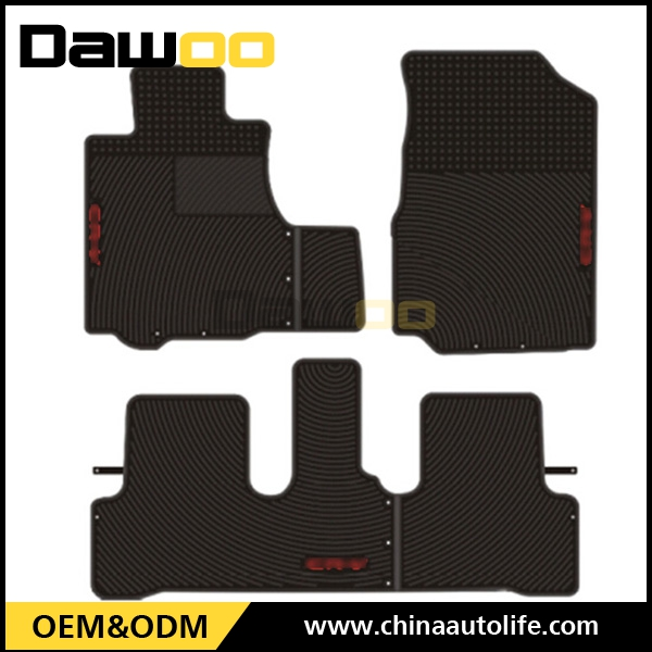 for Honda CRV molded car floor carpet protection auto slip floor rubber mat