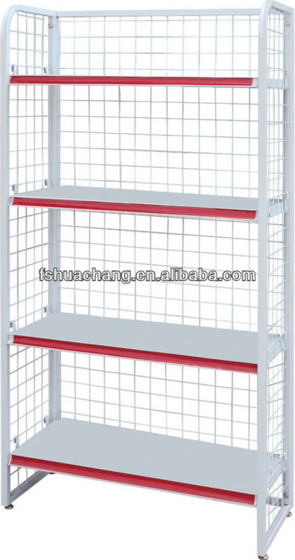 metal display stand/ free standing wire display racks and stands