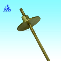 Manufacture supplying Q235 galvanized tie rod in ladder&scaffolding part , standard sizes and customized sizes provided