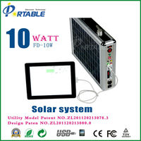 alternative energy generator 10w portble solar panel sysstem