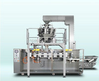 Automatic preformed pouch packing machine