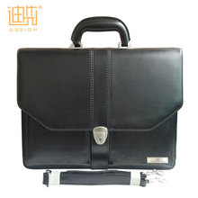 2017 Promotional gift item business bag Pu leather briefcase men