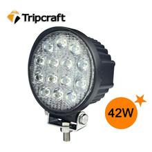 10-30V Car accessories round 42W Led work light led headlight tuning light