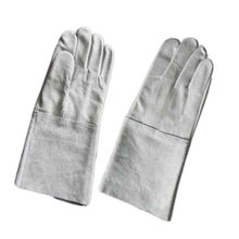 industry use long welding leather gauntlet motorcycle gloves for general work