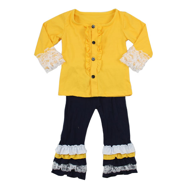 2016 winter spring new born caters baby child kids child lace fabric ruffled soft cotton cute Baby Clothes Wholesale Price