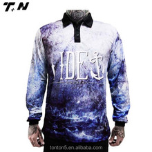 Sublimation fishing polo shirts, long sleeves fishing shirts, fishing clothing