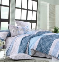 luxury hotel printed 3pc wholesale bed sheets