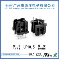 transformer bobbin manufacturer in guangzhou UF10.5 The double groove 2+2