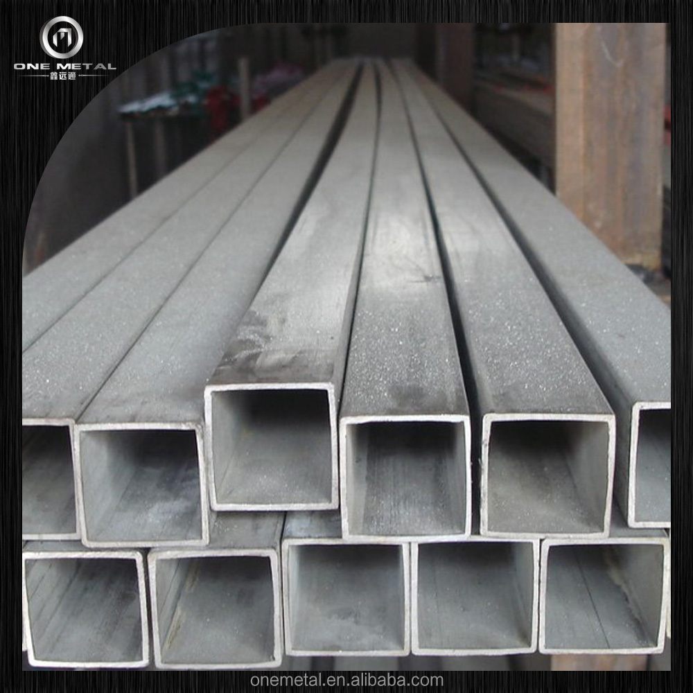 ASTM A554 ONE METAL Pipe and Tube Stainless Steel square tube