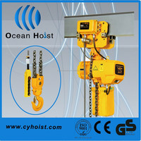 Electric Chain Hoist with Side Magnetic Braking Device