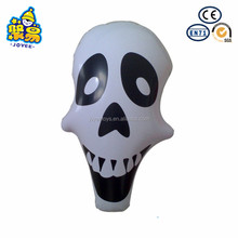 Inflatable skull yard halloween decoration PVC inflatable skull