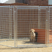Dog kennel Welded wire mesh fence iron fence dog kennel Huilong wire mesh factory manufacture
