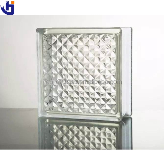 Haojing Acrylic Glass Block Stands Glass Block Hollow