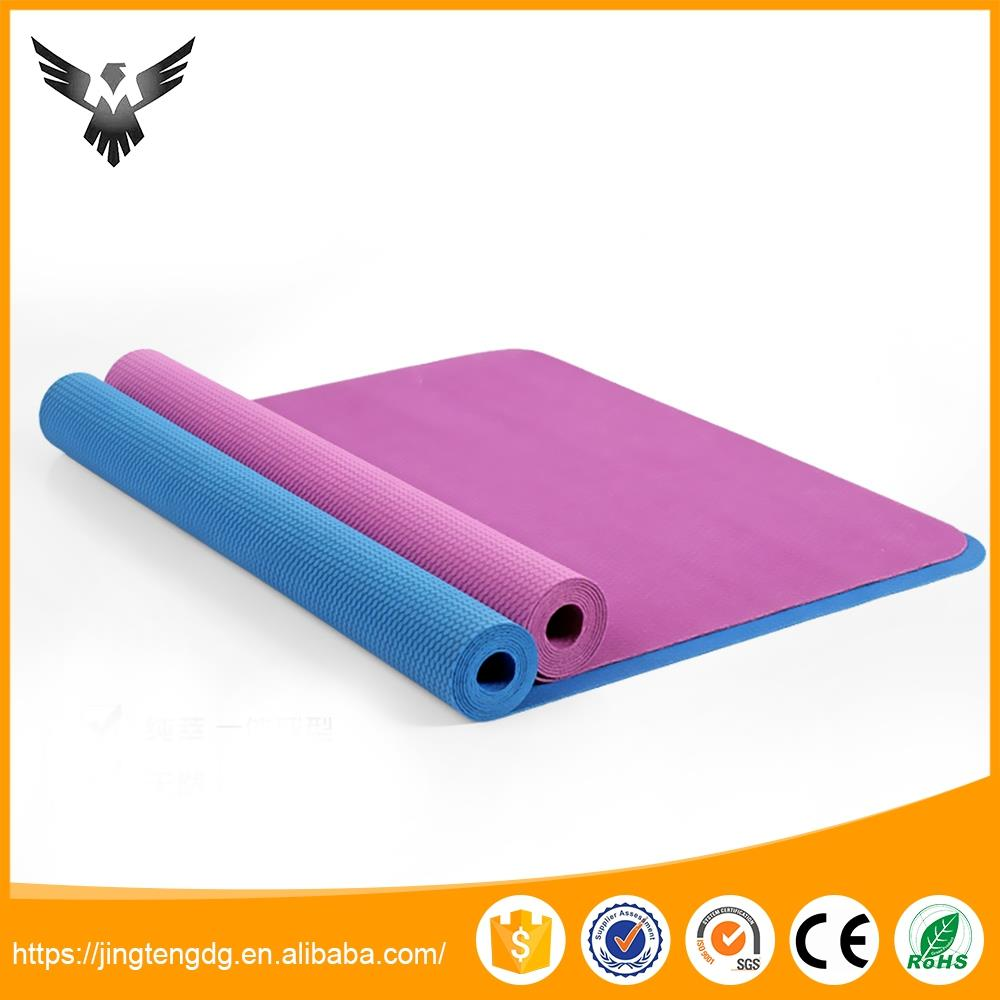 Promotional price yoga exercise oem rubber yoga mats