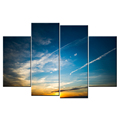 Canvas Wall Art HD Photo Prints Natural Picture Sunset Landscape Modern Canvas Painting for Home and Hotel Decoration Wholesale